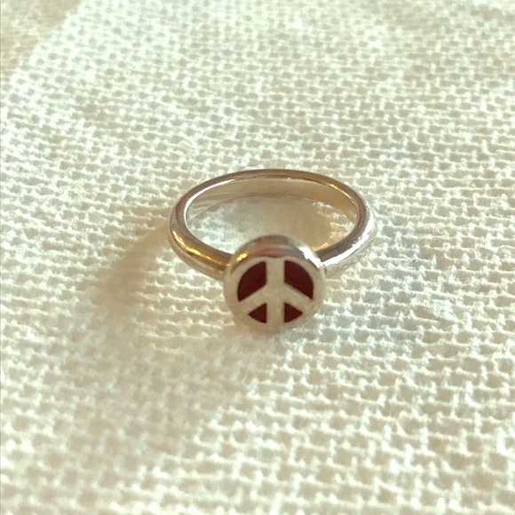 James Avery Jewelry - James Avery retired peace sign ring